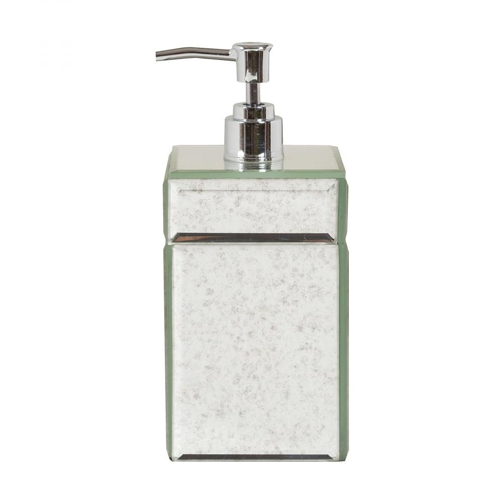 Дозатор для жидкого мыла MontaubanАксессуары для ванной<br>Дозатор для жидкого мыла Montauban — превосходное <br>решение для вашей ванной. Этот аксессуар <br>удобно использовать, достаточно перелить <br>в него жидкое мыло и легким нажатием выдавить, <br>при необходимости, нужное количество. Компактный <br>размер, удобная форма и безупречный внешний <br>вид — в дозаторе Montauban предусмотрено все <br>для максимального комфорта, сделают его <br>украшением любой ванной комнаты, и несомненно, <br>шикарным подарком.<br><br>Цвет: Зеркальный<br>Материал: Пластик, Зеркало<br>Вес кг: 0,3<br>Длина см: 8<br>Ширина см: 8<br>Высота см: 18