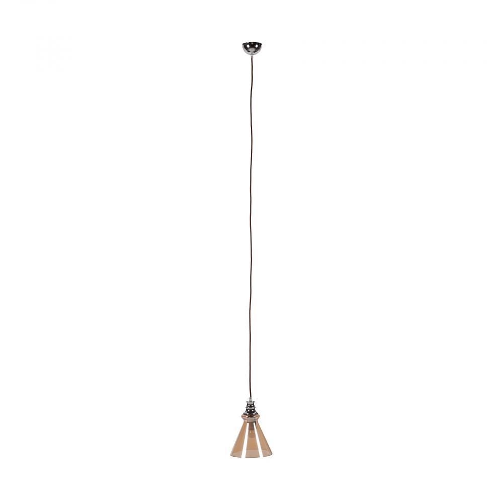 Подвесной светильник LanaПодвесные светильники<br>16-6-2-A<br><br>Цвет: Коричневый, Хром<br>Материал: Металл, Стекло<br>Вес кг: 1,1<br>Длина см: 20<br>Ширина см: 20<br>Высота см: 28