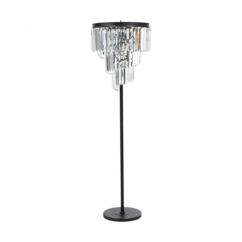 Напольный светильник Fuizhen DG-HOME Удобный элегантный торшер Fuizhen удачно подчеркнет  классический и современный интерьер, создаст  мягкое уютное рассеянное освещение и атмосферу  гармонии и уюта. Строгая грация этого торшера  поражает воображение и моментально привлекает  взгляд. Благодаря подвижным кристаллам,  каскадом спадающим вниз, ваш интерьер всегда  будет залит светом и украшен хрустальными  бликами.