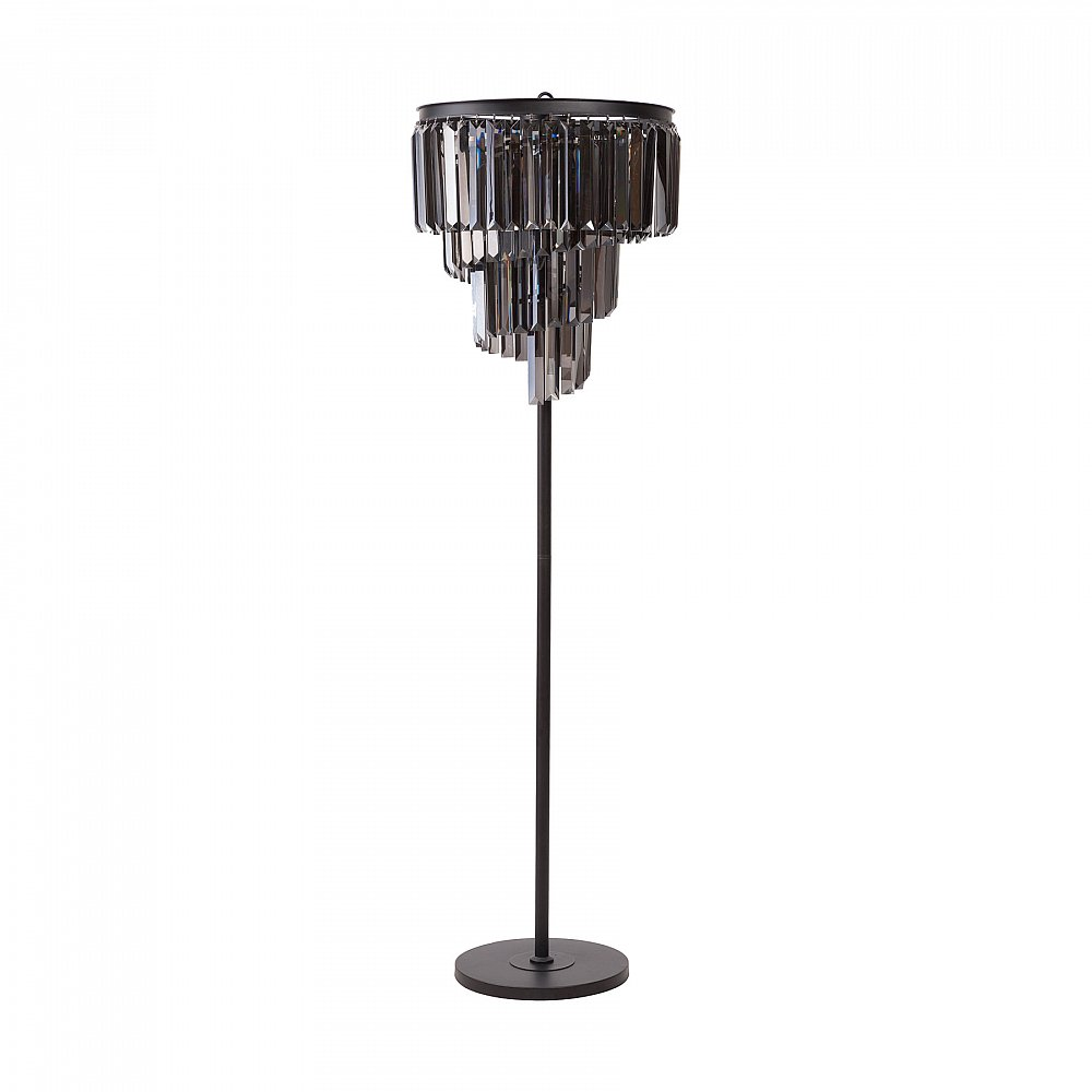 Напольный светильник Fuizhen Moderno DG-HOME Удобный элегантный торшер Fuizhen Moderno удачно  подчеркнет классический и современный  интерьер, создаст мягкое уютное рассеянное  освещение, атмосферу гармонии и уюта. Строгая  грация этого торшера поражает воображение  и моментально привлекает взгляд. Благодаря  подвижным кристаллам, расположенным по  всей поверхности абажура, ваш интерьер  всегда будет залит светом и украшен хрустальными  бликами.