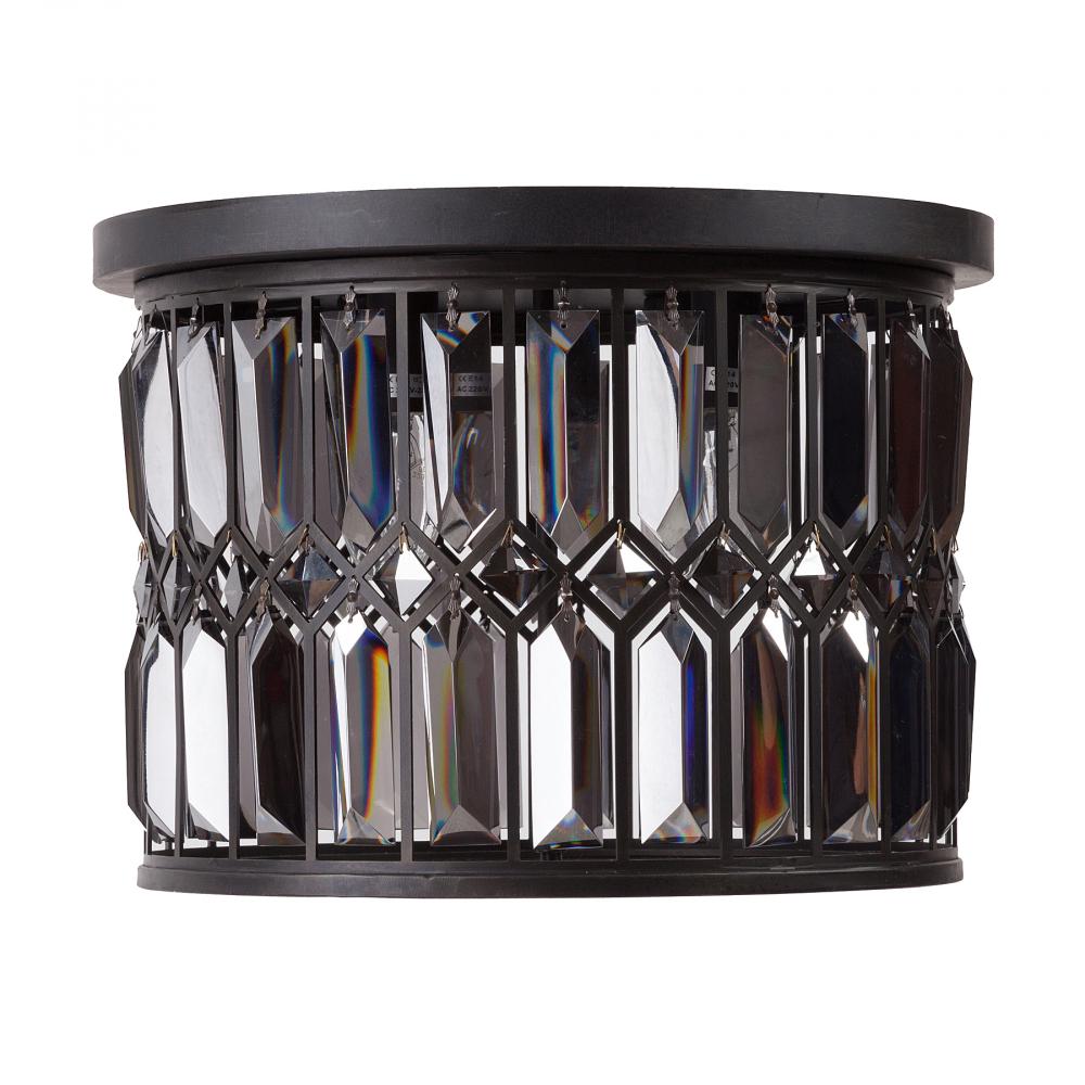Люстра VincelloЛюстры<br>Эегантная люстра Vincello удачно подчеркнет <br>классический и современный интерьер, создаст <br>мягкое уютное рассеянное освещение, атмосферу <br>гармонии и уюта. Строгая грация этой люстры <br>поражает воображение и моментально привлекает <br>взгляд. Благодаря подвижным кристаллам, <br>расположенным по всей поверхности абажура, <br>ваш интерьер всегда будет залит светом <br>и украшен хрустальными бликами.<br><br>Цвет: Чёрный, Прозрачный<br>Материал: Металл, Хрусталь, Стекло<br>Вес кг: 6,5<br>Длина см: 40<br>Ширина см: 40<br>Высота см: 29