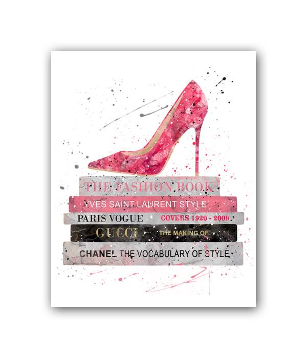 Фото Постер The Fashion book А3. Купить с доставкой