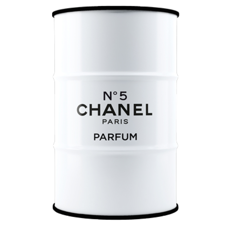 Бочка Chanel white & black XL