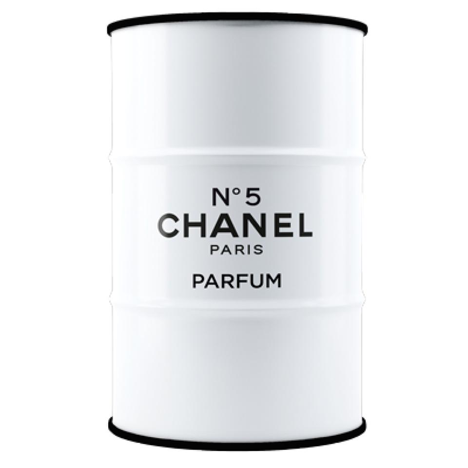 Купить Бочка Chanel white&black L в интернет магазине дизайнерской мебели и аксессуаров для дома и дачи
