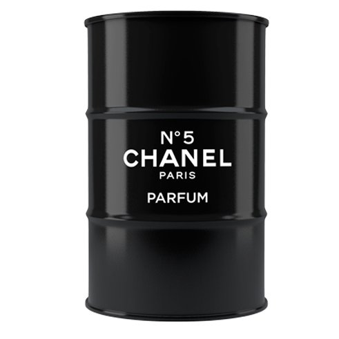 Декоративная бочка Chanel №5 black L, BB-F-B06