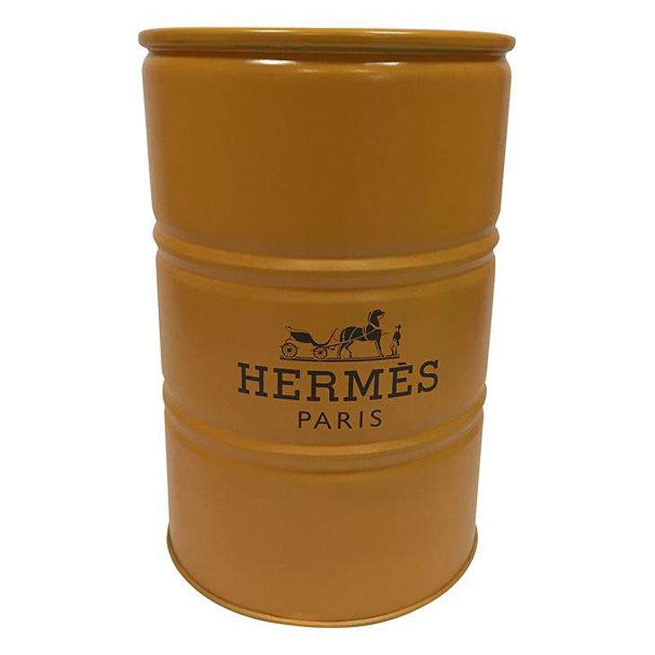 Купить Декоративная бочка Hermes M в интернет магазине дизайнерской мебели и аксессуаров для дома и дачи