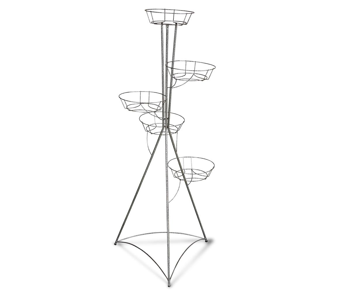 Купить Подставка для цветов Kolonna 5 серый в интернет магазине дизайнерской мебели и аксессуаров для дома и дачи