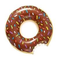 Купить Надувной круг Ponchic шоколад в интернет магазине дизайнерской мебели и аксессуаров для дома и дачи