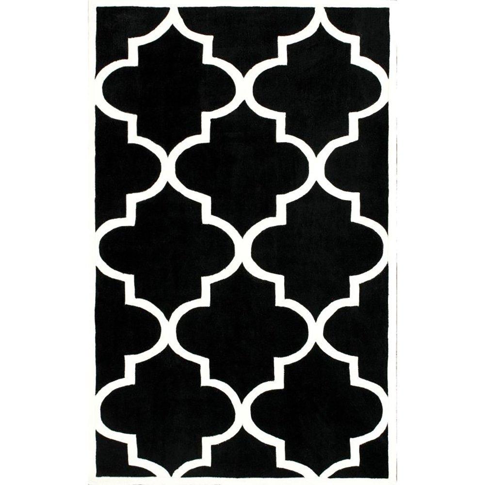 Купить Ковер Trelli чёрный 1,2 1,8 м в интернет магазине дизайнерской мебели и аксессуаров для дома и дачи