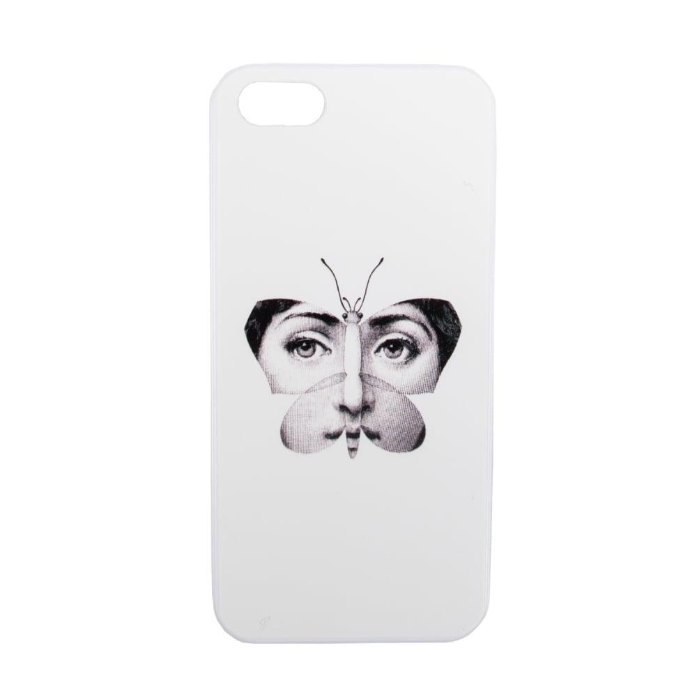 Чехол для iPhone 5/5S Пьеро Форназетти ButterflyДекор для дома<br><br><br>Цвет: Белый<br>Материал: Пластик<br>Вес кг: 0,5<br>Длина см: 7<br>Ширина см: 0,6<br>Высота см: 14