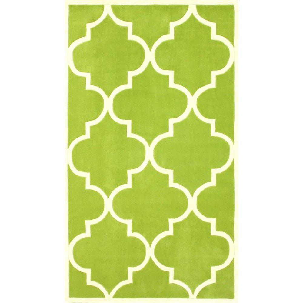 Ковер Trelli зеленый 120*180, CD-D-038