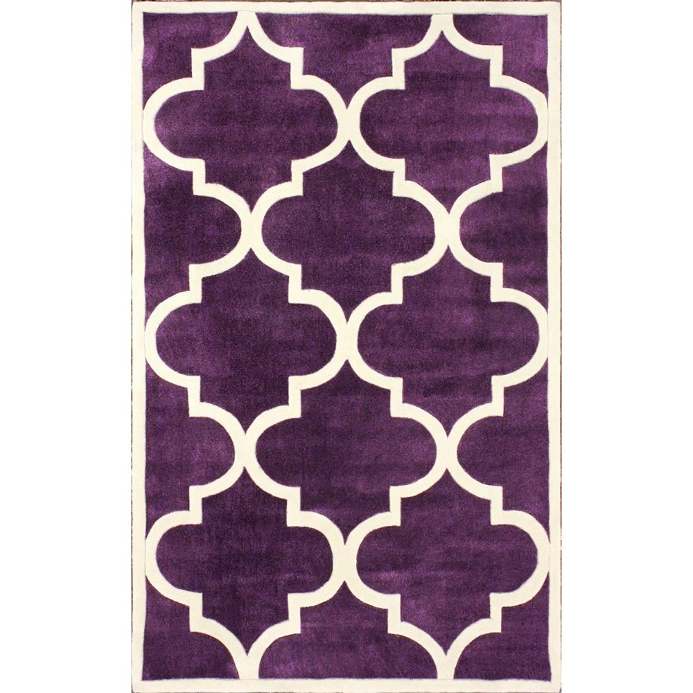 Ковер Trelli фиолетовый 140*200, CD-D-039-01