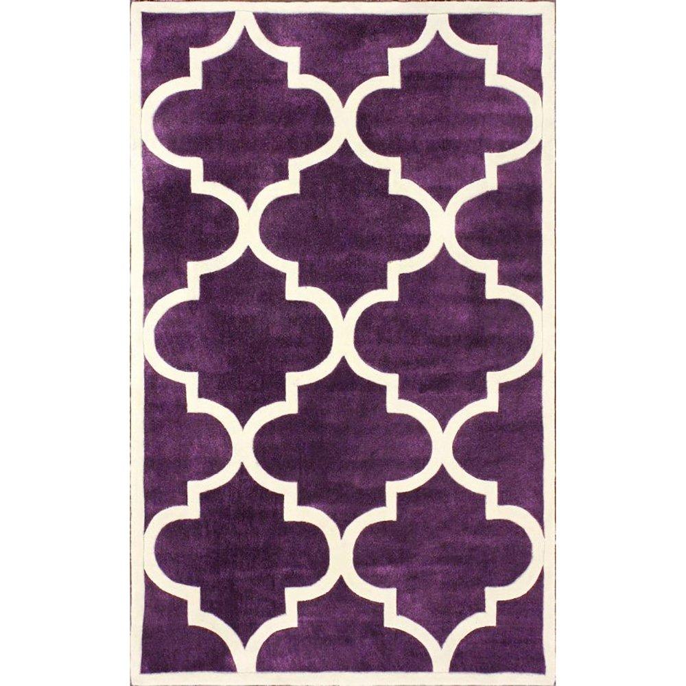 Купить Ковер Trelli фиолетовый 2,4 3,3 м в интернет магазине дизайнерской мебели и аксессуаров для дома и дачи
