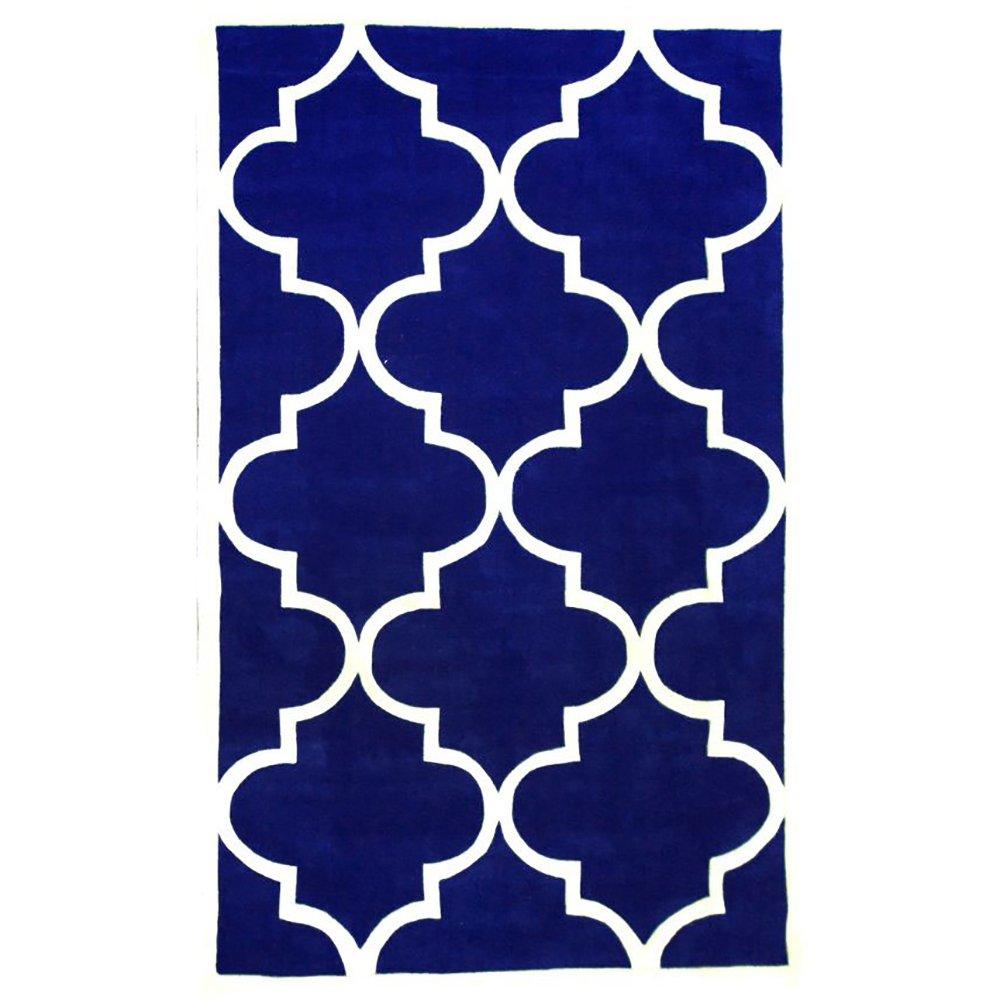 Купить Ковер Trelli синий 1,6 2,3 м в интернет магазине дизайнерской мебели и аксессуаров для дома и дачи
