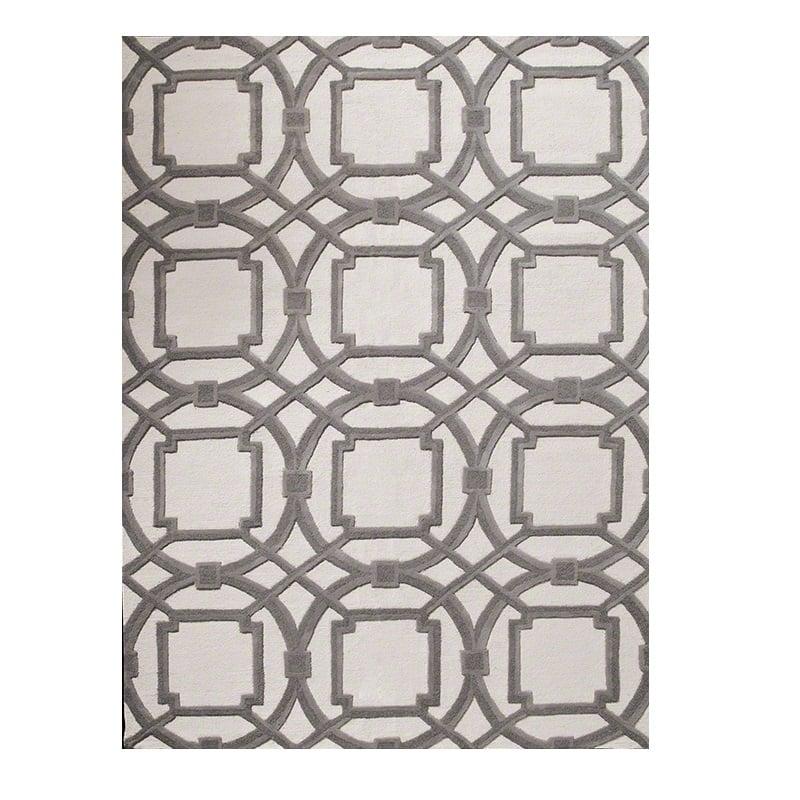 Купить Ковер Arabesque серый 1,4 2 м в интернет магазине дизайнерской мебели и аксессуаров для дома и дачи