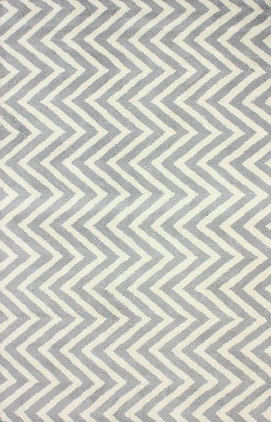 Купить Ковер Zig Zag серый 2 2,8 м в интернет магазине дизайнерской мебели и аксессуаров для дома и дачи