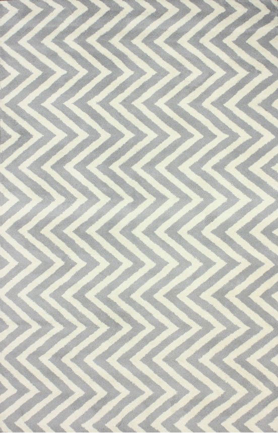 Купить Ковер Zig Zag серый 3 4 м в интернет магазине дизайнерской мебели и аксессуаров для дома и дачи