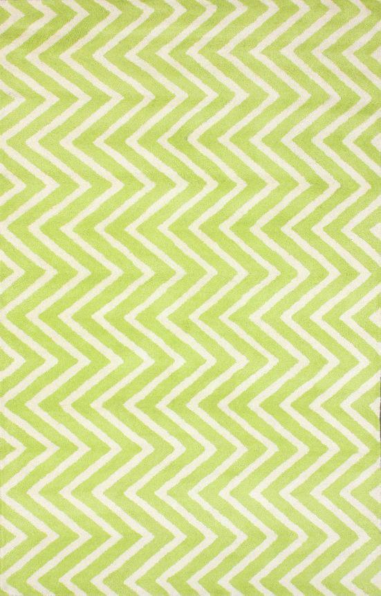 Ковер Zig Zag зелёный 140*200, CD-D-049-01