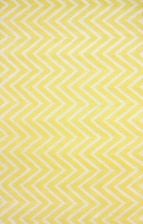 Ковер Zig Zag желтый 120*180, CD-D050