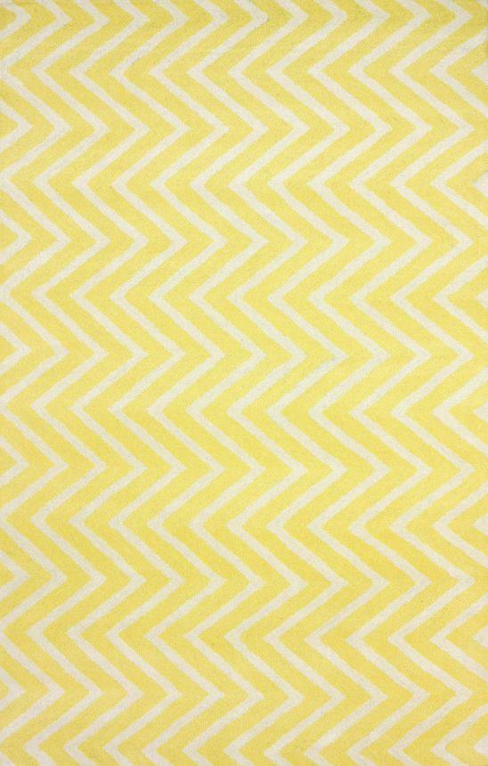 Ковер Zig Zag желтый 140*200, CD-D-050-01