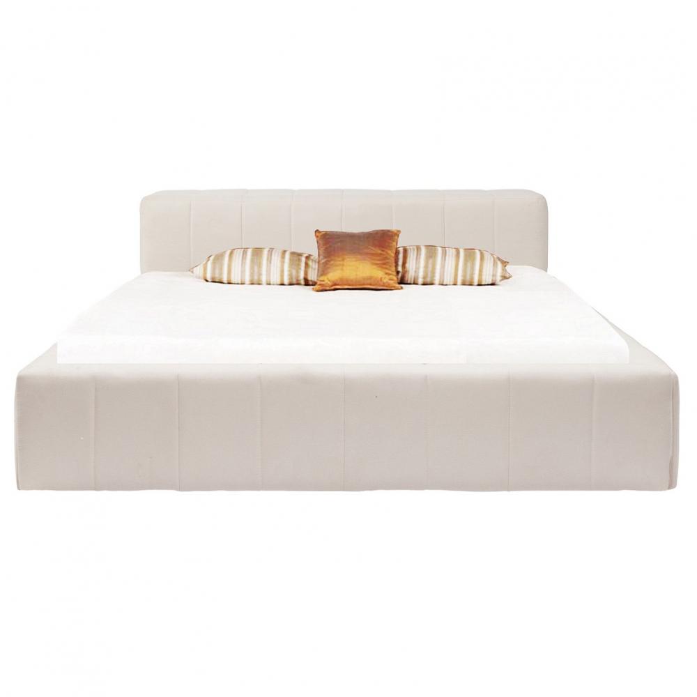 Кровать Bonaldo 135х190 БелаяКровати<br>Нельзя экономить место на кровати — если <br>позволяют размеры спальни, можно смело <br>выбирать кровать побольше. Просто потому <br>что это и красиво, и удобно. И свободно. Кровать <br>Bonaldo выглядит поистине царской — с размерами <br>135х190 см. Задник и основание выполнены из <br>ткани белого цвета и прошиты квадратами, <br>внутри — поролон. Такая кровать создаст <br>уют и подойдет к любому интерьеру, будь <br>то современный дом или лофт. Деревянное <br>основание избавит вас от болей в спине. <br>Осталось только подобрать матрас!<br><br>Цвет: Белый<br>Материал: Ткань, Поролон, Дерево<br>Вес кг: 58<br>Длина см: 156<br>Ширина см: 203<br>Высота см: 90