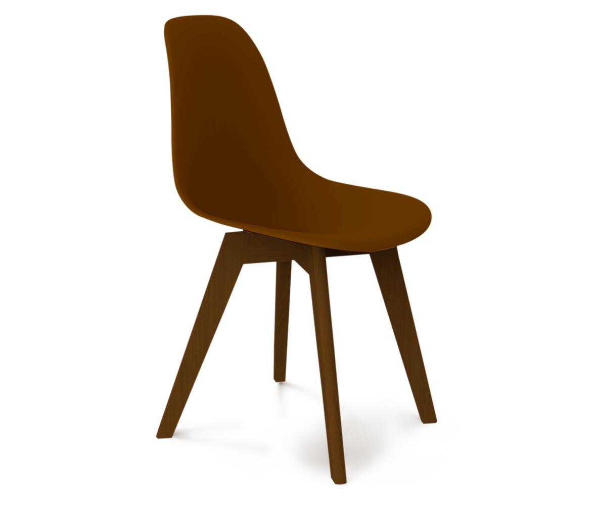 Купить Стул DSW коричневый S39 в интернет магазине дизайнерской мебели и аксессуаров для дома и дачи