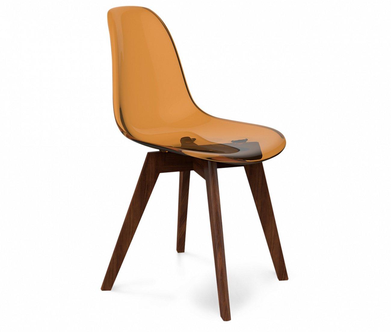 Купить Стул DSW кофейный S39 в интернет магазине дизайнерской мебели и аксессуаров для дома и дачи