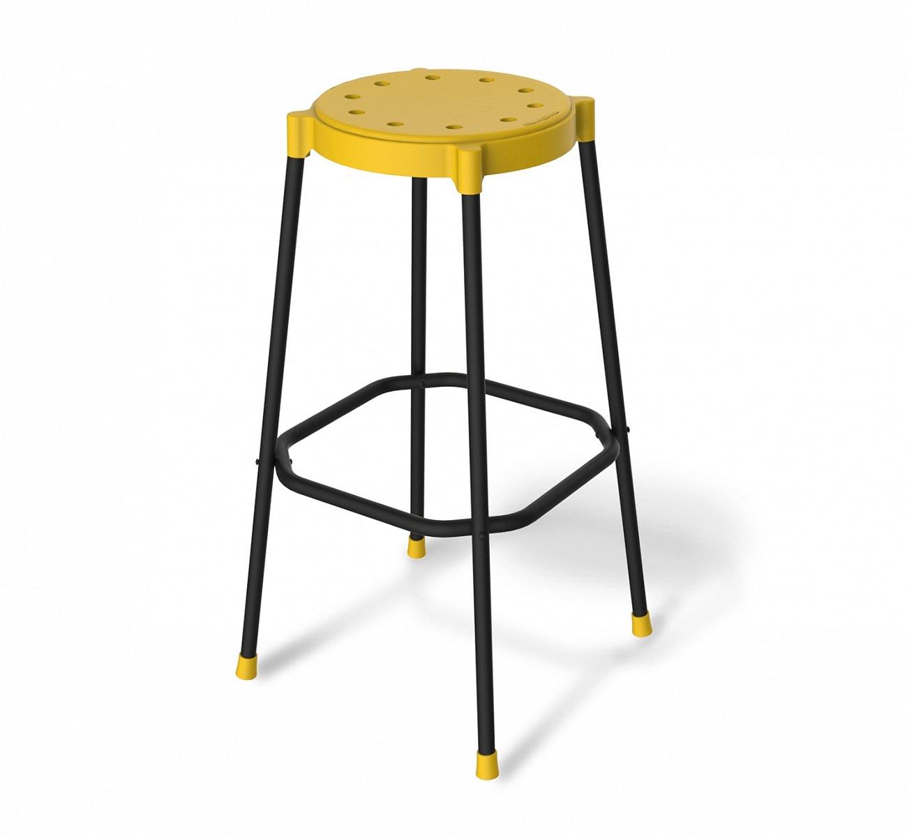Купить Стул барный DSR Жёлтый в интернет магазине дизайнерской мебели и аксессуаров для дома и дачи