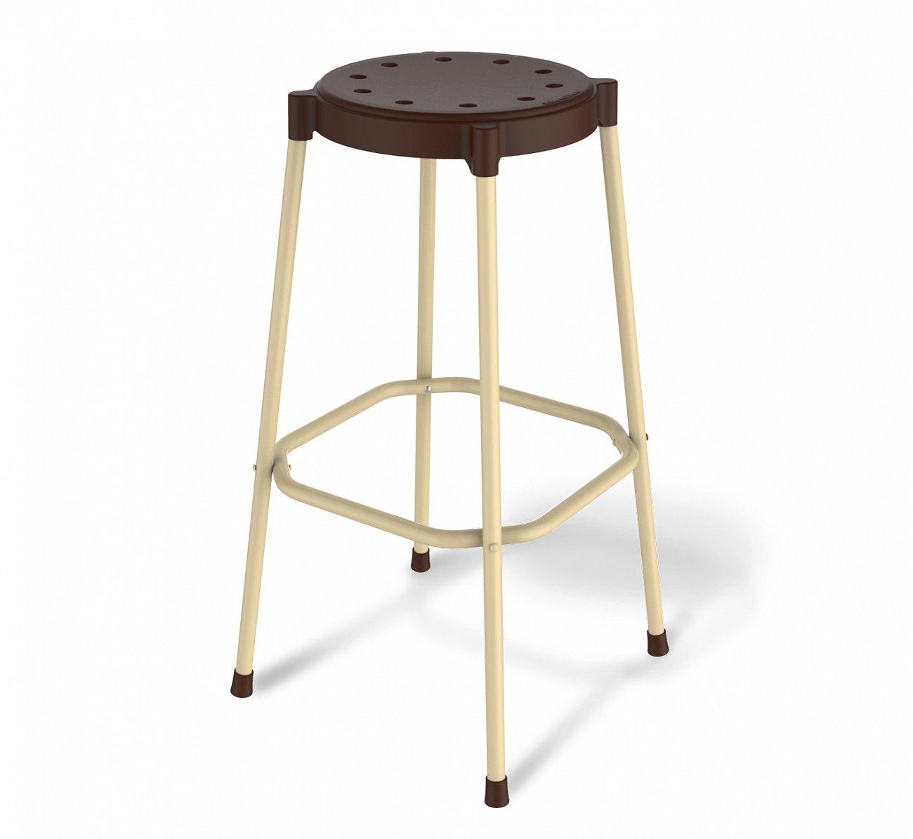 Купить Стул барный DSR шоколадный в интернет магазине дизайнерской мебели и аксессуаров для дома и дачи