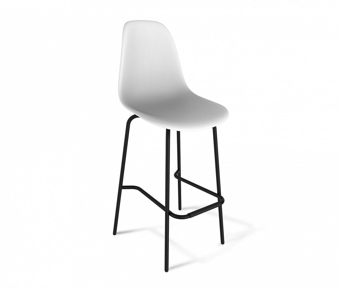 Купить Стул барный DSR белый S29 в интернет магазине дизайнерской мебели и аксессуаров для дома и дачи