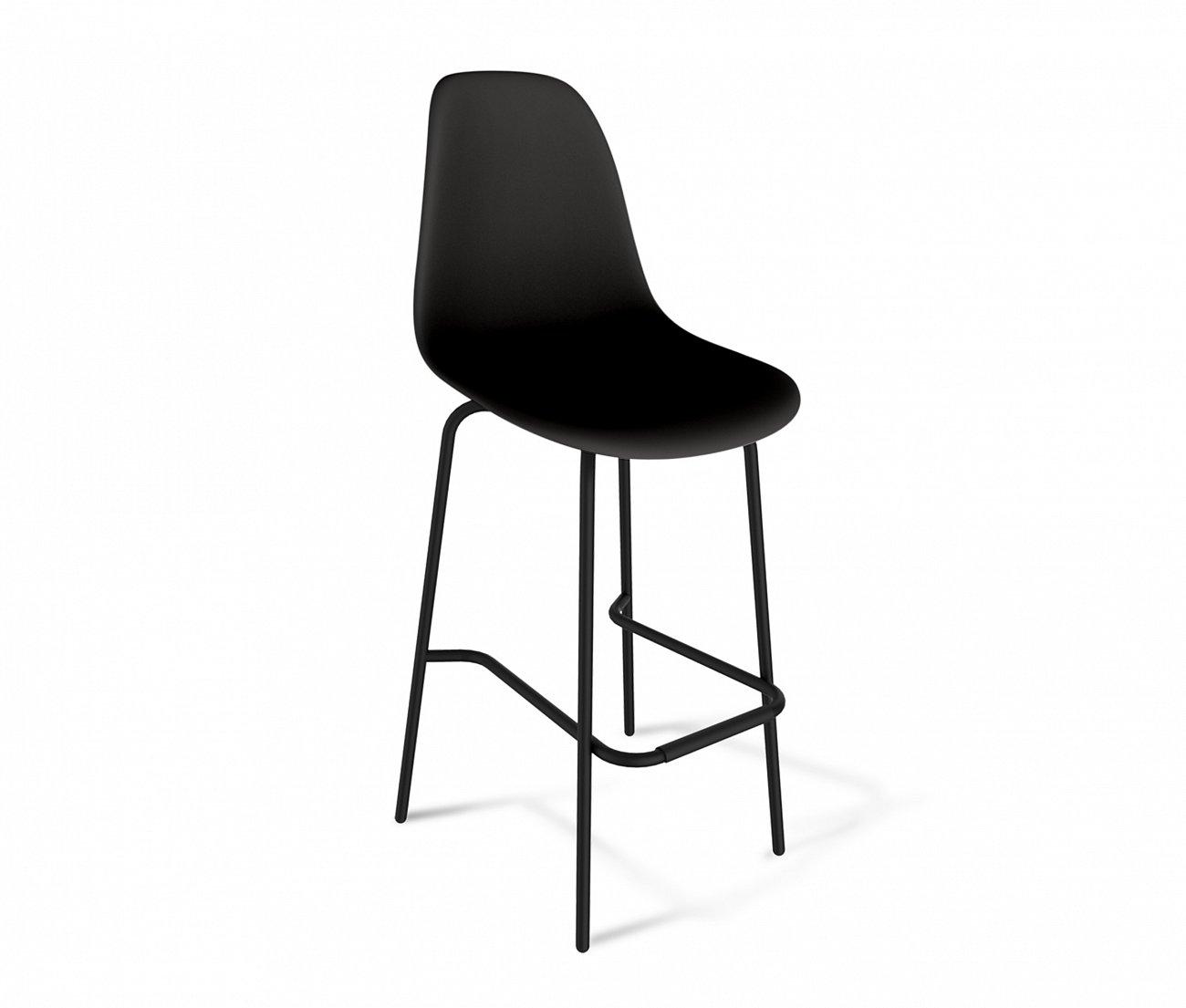 Купить Стул барный DSR чёрный S29 в интернет магазине дизайнерской мебели и аксессуаров для дома и дачи