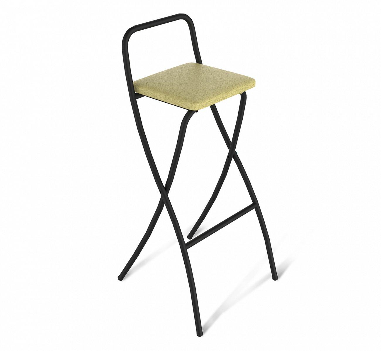 Купить Стул барный складной DSR  бежевый в интернет магазине дизайнерской мебели и аксессуаров для дома и дачи