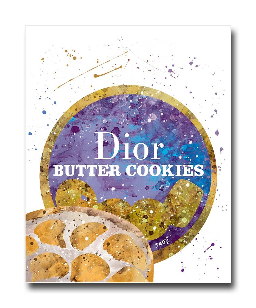 Фото Постер Dior Cookies A4. Купить с доставкой