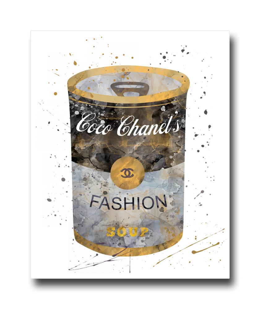 Постер Баночка Coco Chanel's A4, DG-D-PR495