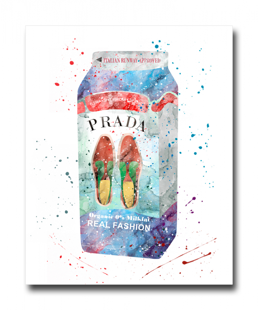 Постер Prada Milk A4