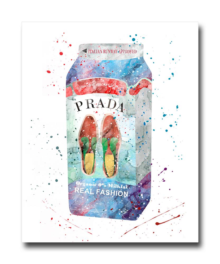 Фото Постер Prada Milk A3. Купить с доставкой