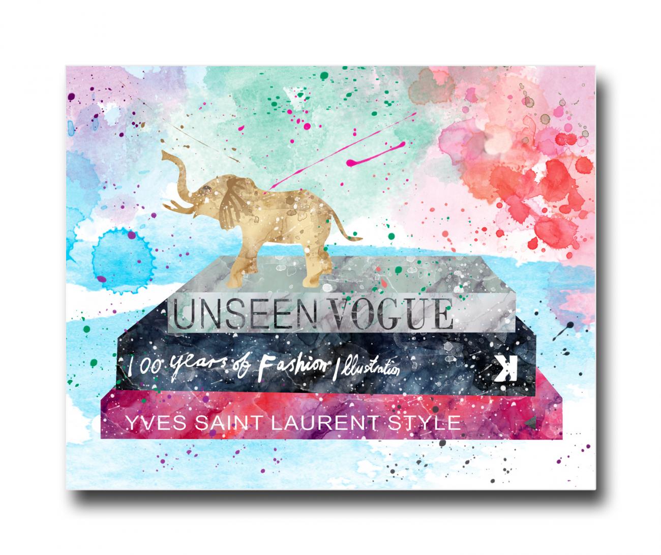 Купить Постер Unseen Vogue A4 в интернет магазине дизайнерской мебели и аксессуаров для дома и дачи