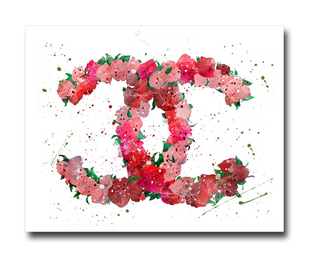 Постер CoCo Flowers A4