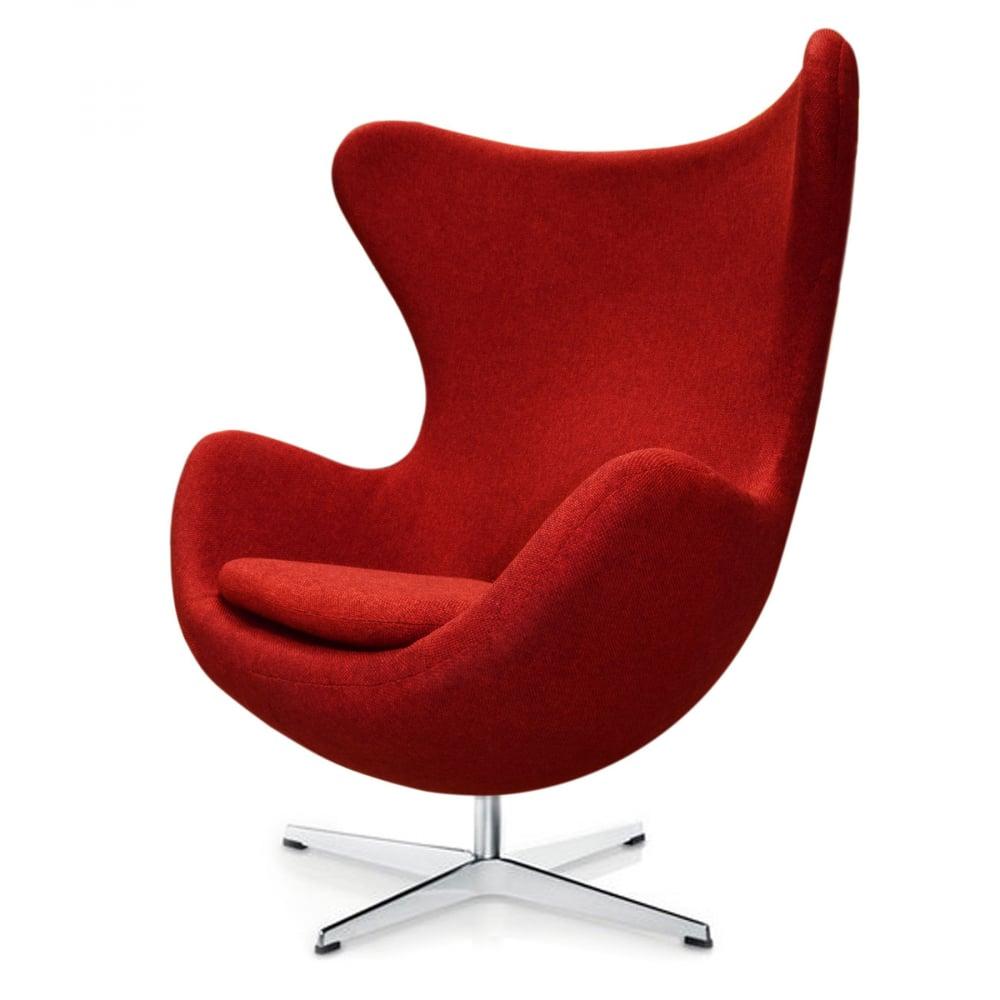 Кресло Egg Chair Мальта Красная