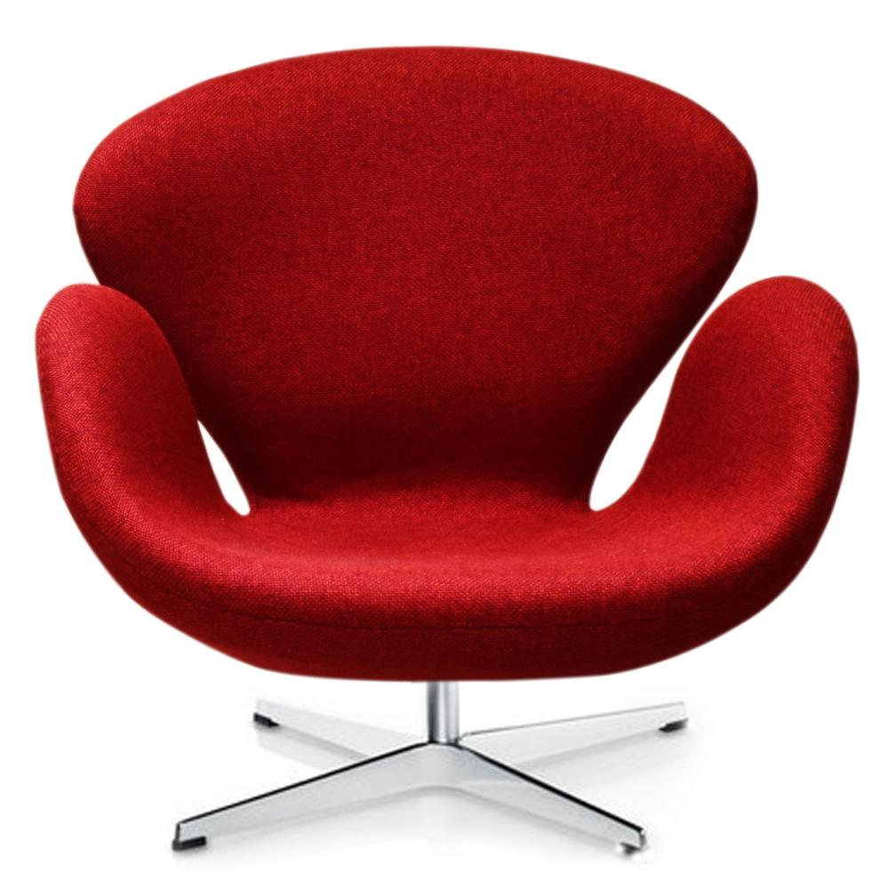 Кресло Swan Chair Мальта Красная, Di-D-04-1