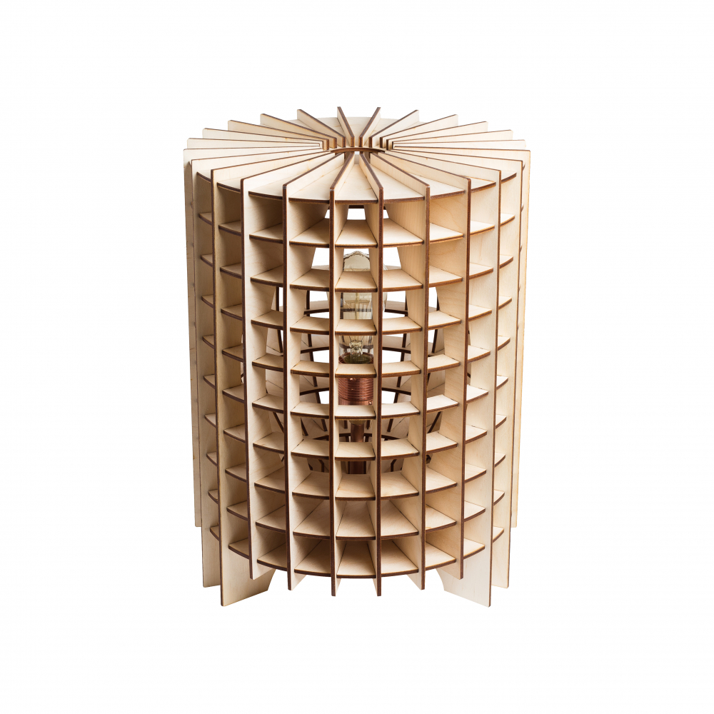Настольная лампа Kolizej, Al-D-04
