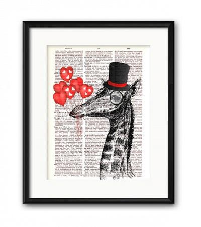 Постер Мистер Жираф А4
