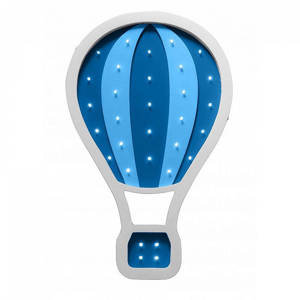 """Детский светильник """"Воздушный шар"""" Синий"""