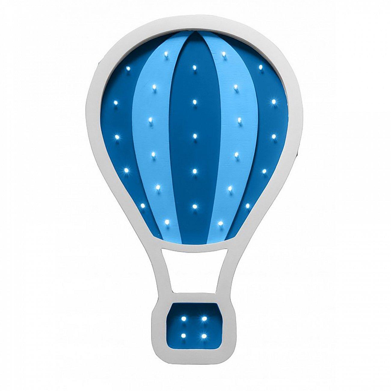 """Купить Детский светильник """"Воздушный шар"""" Синий в интернет магазине дизайнерской мебели и аксессуаров для дома и дачи"""