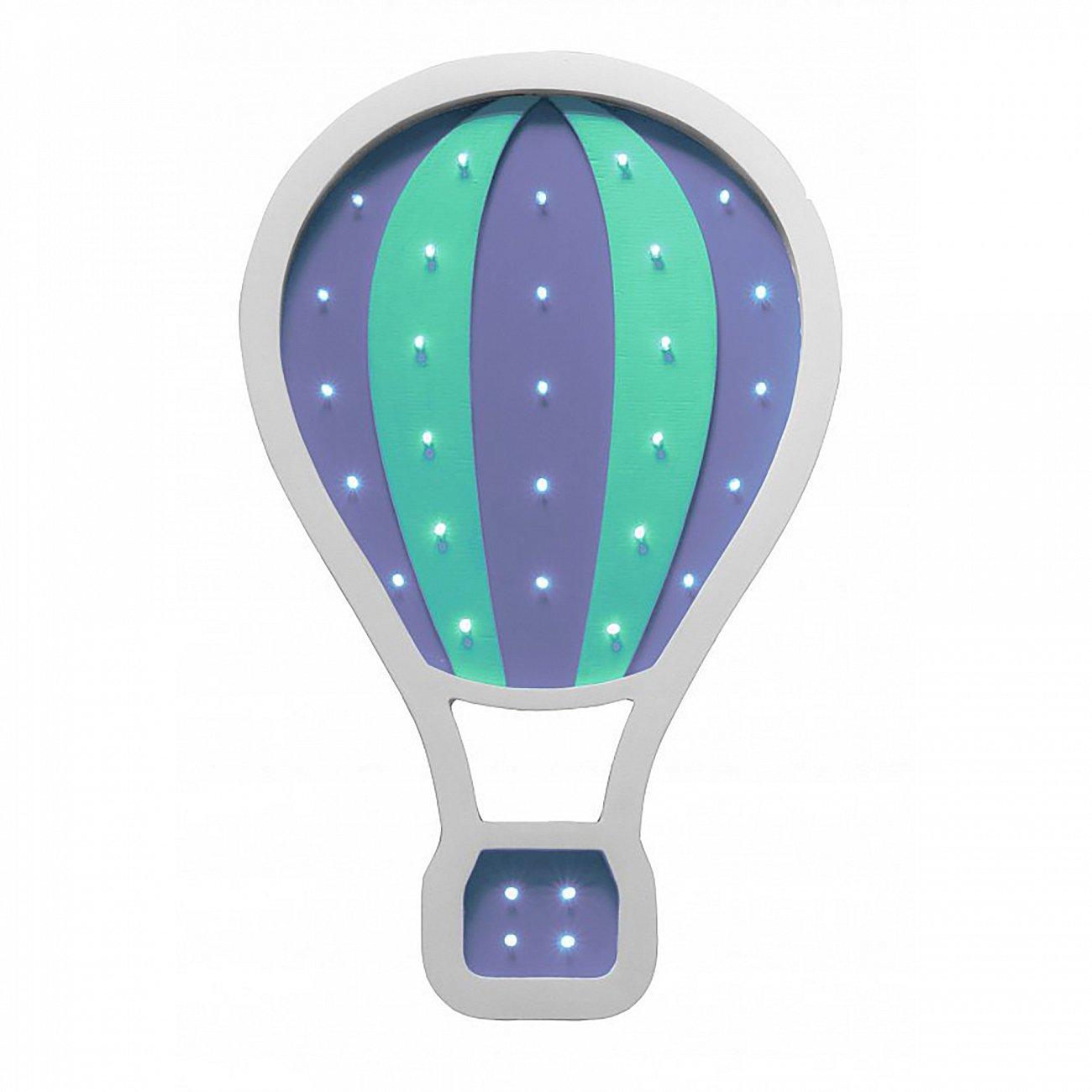 """Купить Детский светильник """"Воздушный шар"""" Фиолетовый в интернет магазине дизайнерской мебели и аксессуаров для дома и дачи"""