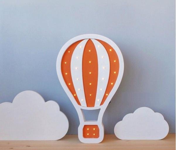 """Детский светильник """"Воздушный шар"""" Оранжевый"""
