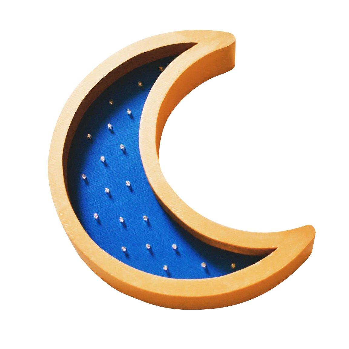 """Купить Детский светильник """"Месяц"""" Синий в интернет магазине дизайнерской мебели и аксессуаров для дома и дачи"""