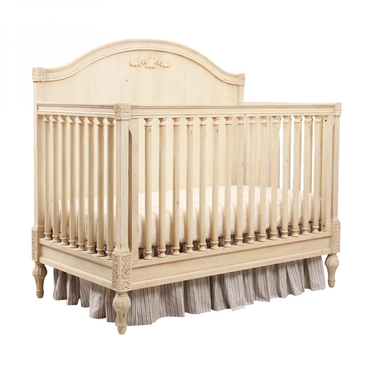 Купить Кровать детская Gracia Белая с матрасом в интернет магазине дизайнерской мебели и аксессуаров для дома и дачи