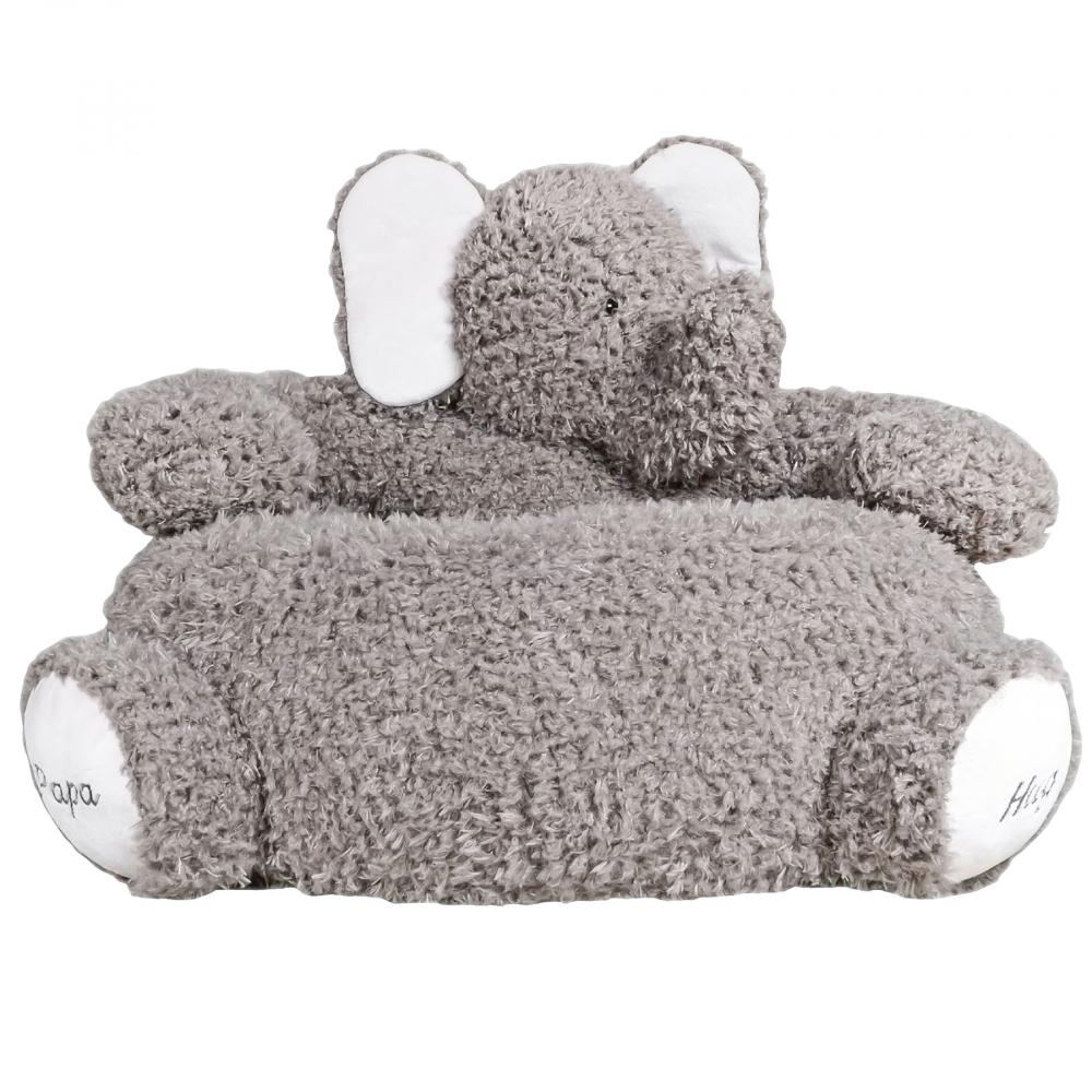 Детское мягкое кресло СлоникКресла детские<br>Это удобное кресло качалка подойдёт как <br>для сна, так и для игр.<br><br>Цвет: Серый, Белый<br>Материал: Полиэстер<br>Вес кг: 4,5<br>Длина см: 55<br>Ширина см: 65<br>Высота см: 42