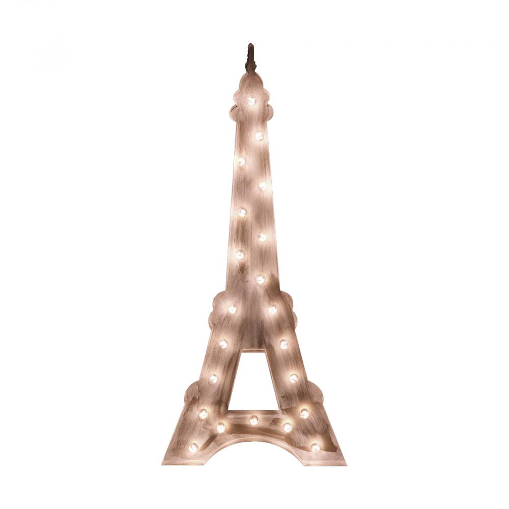 Напольный светильник Эйфелева БашняСвет детский<br>Железо для использования со светодиодными <br>лампами E27 (не включены в комплект).<br><br>Цвет: Бежевый<br>Материал: Металл<br>Вес кг: 7<br>Длина см: 38<br>Ширина см: 10<br>Высота см: 85